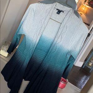 Blue Sweat Cardigan
